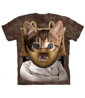 Catnibble Lector - Cat T Shirt The Mountain