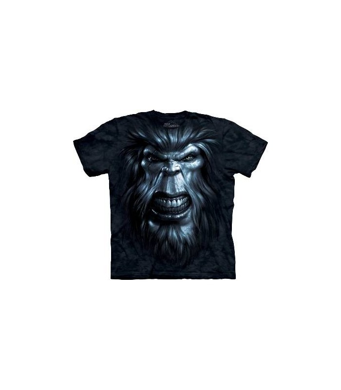 T-Shirt Bigfoot Gaze par The Mountain