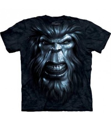 Bigfoot Gaze - Monster T Shirt by the Mountain