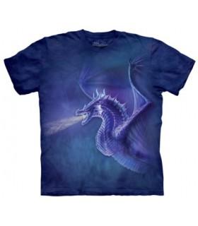 Mystical Dragon - Fantasy T Shirt The Mountain