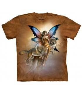 Spirited Companions - Fantasy T Shirt The Mountain