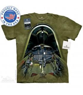 T-shirt Cockpit de F4U-1D Corsair