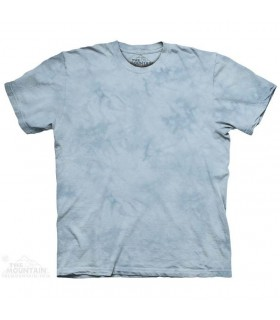 Tyler Blue - T-shirt Tacheté Dye The Mountain