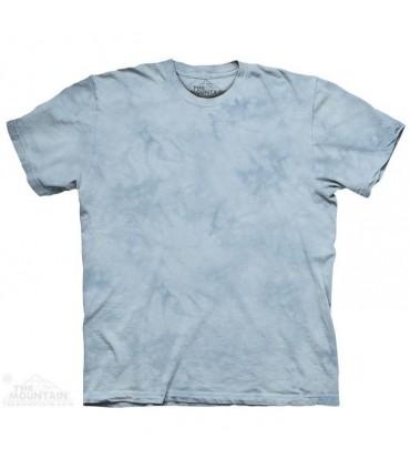 Tyler Blue - Mottled Dye T Shirt The Mountain