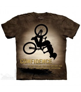 Confidence - T-shirt Vélo The Mountain