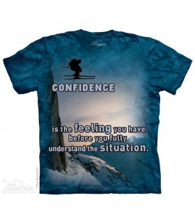 T-shirt Ski The Mountain
