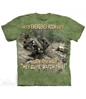 Hopital en Extérieur - T-shirt Jeep The Mountain
