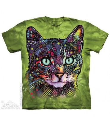 Watchful Cat - Pet T Shirt The Mountain