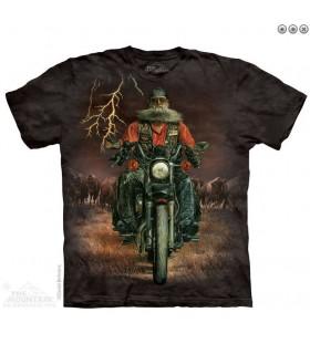 The Mountain Unisex Buffalo Thunder Biker T Shirt