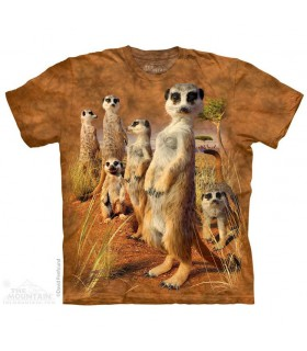 Meerkat Pack Animal T Shirt The Mountain
