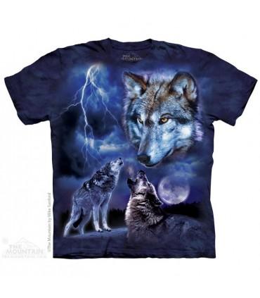 Loups et Tempête - T-shirt Loup The Mountain