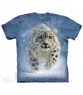 The Mountain Unisex Snow Ghost Leopard T Shirt