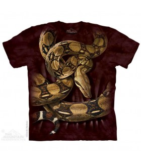 T-shirt Boa Constrictor The Mountain
