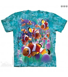 T-shirt Poisson Clown The Mountain