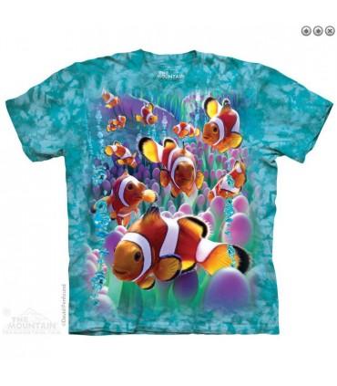 T-shirt Poisson Clown The Mountain