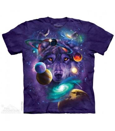 T-shirt Loup Cosmique The Mountain