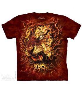 T-shirt Tigre en Feu The Mountain