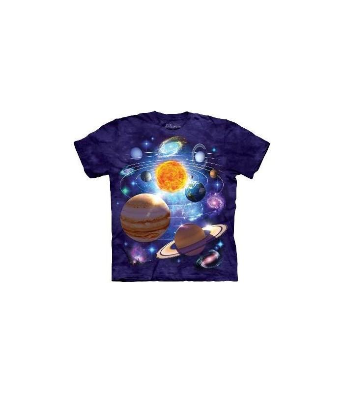 Vous êtes Ici - T-Shirt Science Fiction par The Mountain