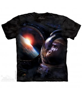 Gorilla Space Animal T Shirt The Mountain