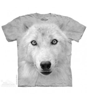 Don't Look Wolf Animal T Shirt The Mountain
