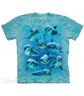 T-shirt Escouade de Dauphins The Mountain