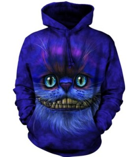 Adult Big Face Cheshire Cat Hoodie The Mountain
