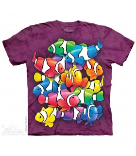 T-shirt Poissons Clowns The Mountain
