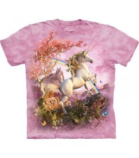 Awesome Unicorn - Fantasy T Shirt by the Mountain