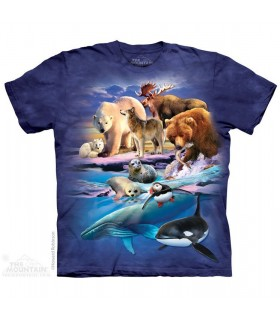 T-shirt Animaux d'Alaska The Mountain
