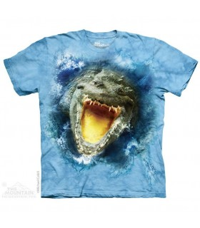 The Mountain Unisex Gator Splash Reptile T Shirt