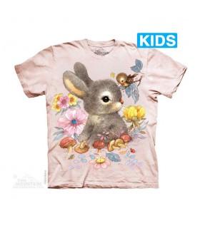 The Mountain Unisex Baby Bunny Animal T Shirt