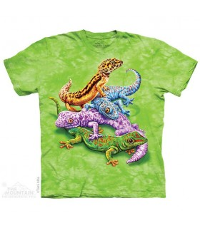 Geckos Reptile T Shirt The Mountain