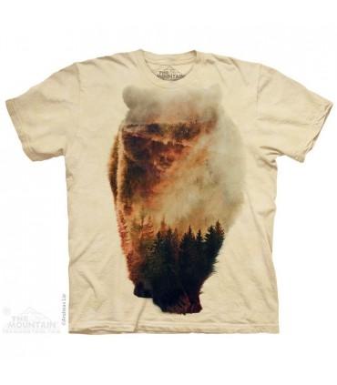 Approaching Bear Animal T Shirt The Mountain