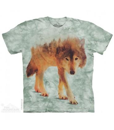 T-shirt Loup de la Forêt The Mountain