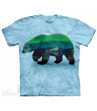 T-shirt Ours Aurore Polaire The Mountain