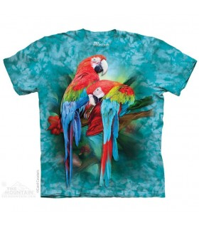 Macaw Mates Bird T Shirt The Mountain