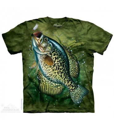 Crappie Aquatic T Shirt The Mountain