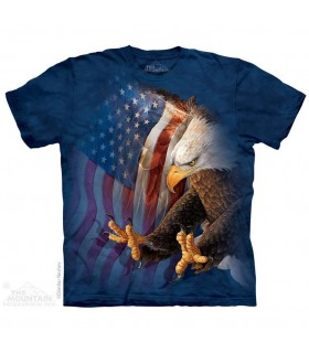 T-shirt Aigle de la Liberté The Mountain
