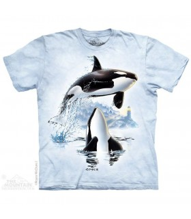 Up and Over Orca T Shirt The Mountain