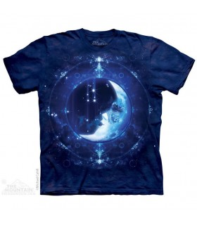 Moon Face Fantasy T Shirt The Mountain