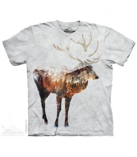 Snow Elk Animal T Shirt The Mountain