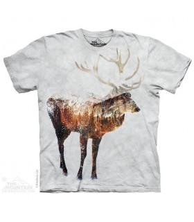 Snow Elk Animal T Shirt The Mountain