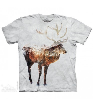 T-shirt Elan dans la Neige The Mountain
