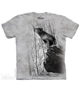 T-shirt Loup Hurlant The Mountain