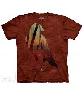 T-shirt Corbeau The Mountain