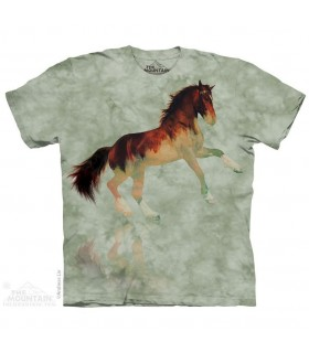 Forest Stallion Animal T Shirt The Mountain