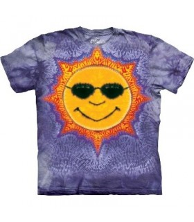 Sun Tie Dye - Inspirational T Shirt by the Mountain