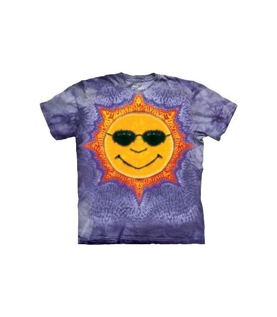 c060d99f1f3 Sun Tie Dye - Inspirational T Shirt by the Mountain