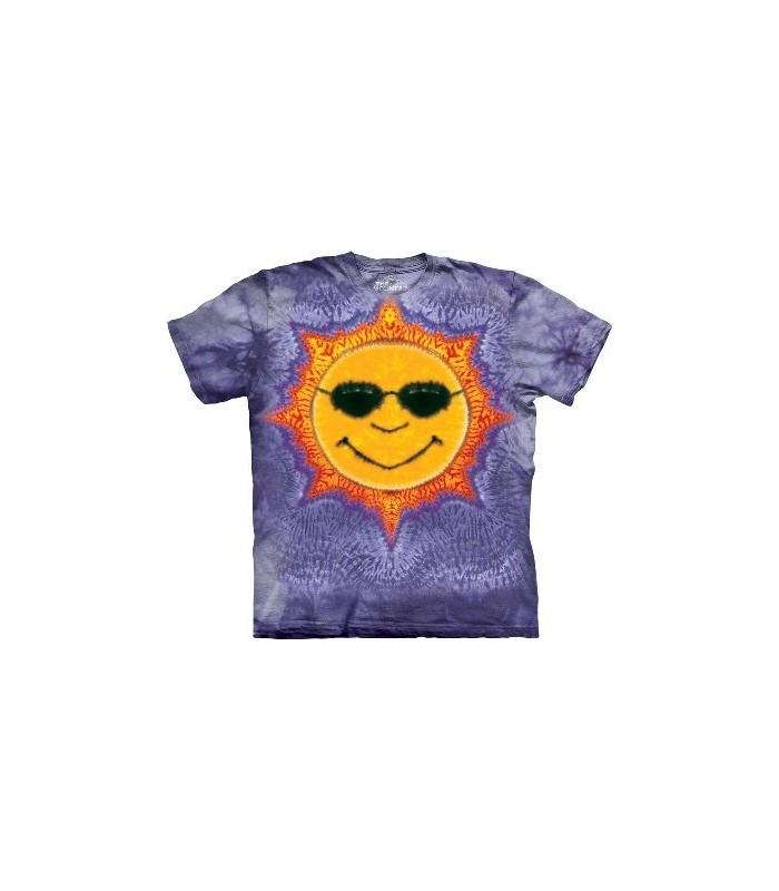 Sun Tie Dye - Inspirational T Shirt by the Mountain