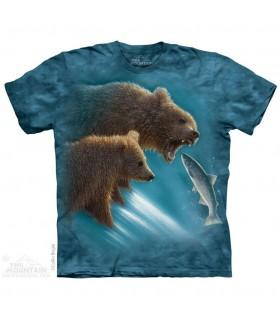 Fishing Lesson Bear T Shirt The Mountain
